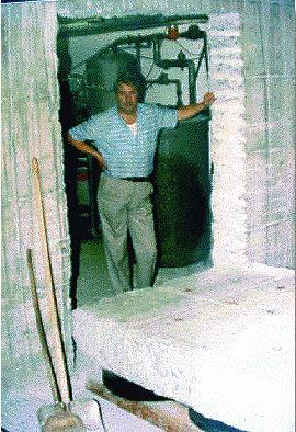 Découpe d'une porte dans un mur  béton de 40 cm d'épaisseur